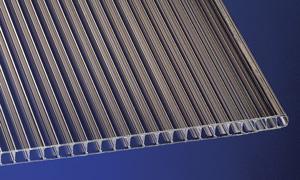 Polycarbonat Stegplatten 10 mm bronce Hohlkammerplatten mit UV-Schutz!