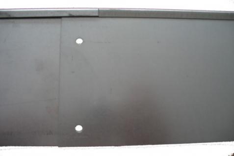 Rasenkante Metall 1180 x 120 x 95 mm einzeln - abgerundete Rasenkanten aus feuerverzinktem Stahlblech - Vorschau 5