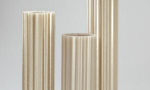 Polyester Lichtwellbahnen Wellpolyester Wellbahnen GFK Glasfaserverstarkt Natur Transparent