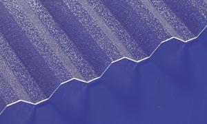 Acryl Wellplatten Lichtplatten Profilplatten Trapez 76/18 klar gekräuselt 1, 5 mm