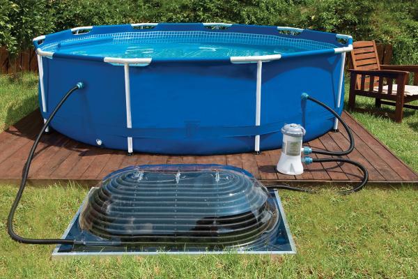 poolheizung palram solar aqua dome grand solarkollektor schwimmbadheizung kuppelkollektor. Black Bedroom Furniture Sets. Home Design Ideas