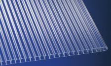 Polycarbonat Stegplatten 10 mm klar Hohlkammerplatten mit UV-Schutz!