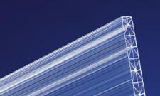 Polycarbonat Stegplatten 16 mm klar X-Struktur robuste, schlagfeste Hohlkammerplatten mit UV-Schutz!
