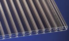 Polycarbonat Stegplatten 16 mm bronce robuste, schlagfeste Hohlkammerplatten mit UV-Schutz!