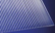 Polycarbonat Stegplatten 6 mm klar Hohlkammerplatten mit UV-Schutz!
