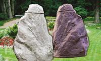 Regentonne Falkenstein 220 L felsgrau, granitrot