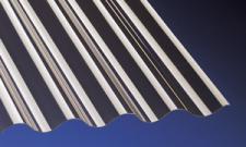 Acryl Wellplatten Lichtplatten Profilplatten Sinus 76/18 bronce 1, 5 mm