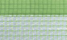 Gitterfolie mit Luftpolster und Nagelrand 2, 0 x 25 m Rolle grün-transparent, mit Gitterarmierung, UV-stabilisiert, Abdeckfolie, Gitterplane