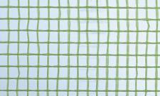 Gitterfolie Standard 2, 0 x 50 m Rolle grün-transparent, mit Gitterarmierung, UV-stabilisiert, Abdeckfolie, Gitterplane