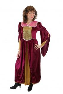 Aufwändiges Kostüm Damenkostüm Mittelalter Edelfrau Gothic Cosplay Märchen L003 - Vorschau 3