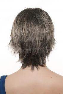 Sexy modische Damenperücke Perücke wild burschikos Strähnen schwarz blond 1BT24 - Vorschau 3