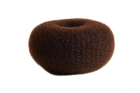 Duttkissen Haardutt Dutt Kissen Ring Haarrose Volumen Styling braun XL groß 15x7