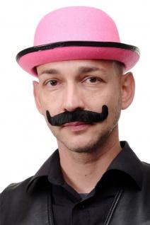 Karneval Fasching Halloween falscher Bart Schnauzbart Gentleman schwarz MM-70