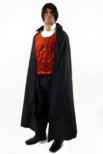 Kostüm DRACULA Vampir Gothic HALLOWEEN Herren Transsilvanien Blutsauger K38 - Vorschau 4