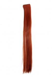 2 Clips Extension Strähne glatt Tizian-Rot YZF-P2S25-350 65cm Haarverlängerung