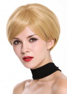 WIG ME UP Perücke Damenperücke kurz burschikos gescheitelt Blond Karamellblond