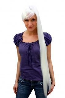 Damenperücke ELFENHAFT extralang lang eisblond weiß glatt 90cm 9293L-B80 Perücke