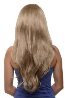 Clip-in Haarteil mit 7 Klammern 3/4 Perücke Blond Honigblond ca. 60cm H9505-15