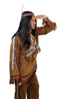 Kostüm Herren Herrenkostüm Indianer Häuptling Apache Sioux Cowboy L030 - Vorschau 3