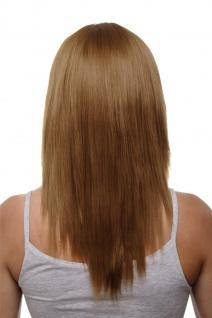 Clip-in Haarteil mit 5 Klammern 3/4 Perücke Erdbeerblond blond ca 50cm HD1401-27