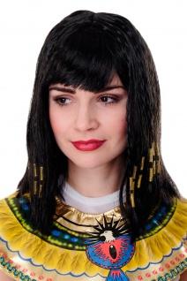 Karneval Perücke Cleopatra Kleopatra Antike Hollywood Diva Halloween PW0185 NEU