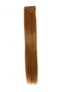 2 Clips Extension Strähne glatt Kupfer-Blond YZF-P2S18-27 45cm Haarverlängerung