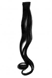 1 CLIP Extension Strähne wellig Schwarz YZF-P1C18-1 45cm Haarverlängerung