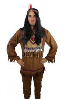 Kostüm Herren Herrenkostüm Indianer Häuptling Apache Sioux Cowboy L030