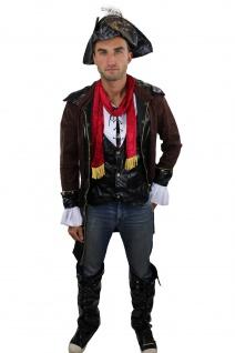 Cooles Set: Herrenkostüm Kostüm Steampunk Rockabilly-Pirat Pirat L011