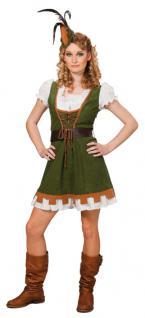 Rubies: Miss Robin Kostüm 3tlg. Modell 1/3541 Hood Forrest Mittelalter Marianne