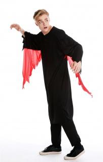 Kostüm Herren Damen Unisex Halloween Geist Gespenst Serienkiller Gr M/L M-0001 - Vorschau 2