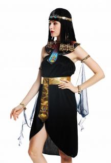 Kostüm Damen Frauen Karneval Ägypterin Kleopatra Cleopatra Pharaonin S/M W-0264 - Vorschau 5