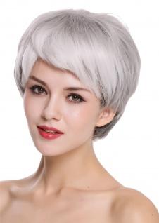 WIG ME UP Damenperücke Perücke Damen edel ältere kurz glatt Schwarz Grau Mix - Vorschau 2