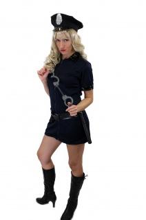 Komplettset: Kostüm Damenkostüm Sexy Politesse Polizistin Female Cop Police L006 - Vorschau 5