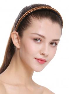 Haarband Haarreif geflochten Tracht traditionell dunkelblond braid CXT-004-341