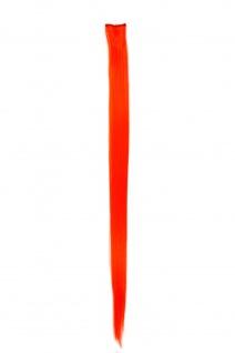 Strähne/ Extension/ Haarverlängerung 1 Clip-In 52 cm x 3 cm Orange FKJ-1-TF2202