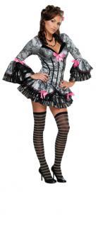 Rubies: French Kiss Modell 2/889337 Kostüm Saloon Girl French Maid Zofe Minirock