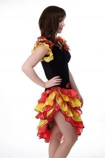 DRESS ME UP - Kostüm Damen Tango Tangotänzerin Carmen Kleid Bolero Gr. S/M L214 - Vorschau 3