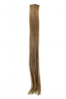 2 Clips Extension Strähne glatt Asch-Blond YZF-P2S25-16 65cm Haarverlängerung