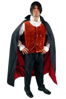 Kostüm DRACULA Vampir Gothic HALLOWEEN Herren Transsilvanien Blutsauger K38