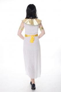 DRESS ME UP - Kostüm Damen Kleopatra Cleopatra Pharaonin Ägypten Mummy Gr. S/M - Vorschau 4