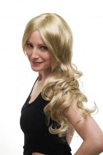 Damenperücke Perücke lang wellig etwas gelockt hellblond blond Scheitel 3274-234 - Vorschau 2