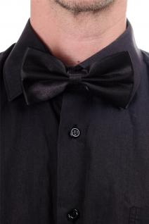 DRESS ME UP - Halloween Karneval Fliege Bowtie Schwarz Gentleman W-071B-black