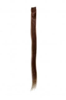 1 CLIP Extension Strähne glatt Hell-Braun YZF-P1S25-8 65cm Haarverlängerung