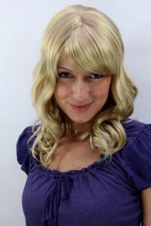 Perücke blond lockige Strähnen 3020-202