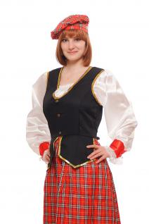Kostüm Damen Damenkostüm Schotte Schottin Scotswoman Schottland Scot K46 - Vorschau 3