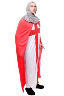 Kostüm Herrenkostüm Männer Ritter Kreuzritter Mittelalter Robe England L079