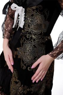 DRESS ME UP Kostüm Damenkostüm Kleid Funkenmarie Barock Piratin Seeräuberin Gr. S/M - Vorschau 5