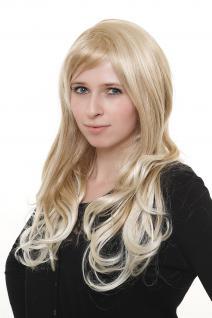 Wahnsinnig schöne Damenperücke Perücke blond durchsträhnt sehr lang 3401-24BT613
