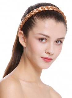 Haarband Haarreif geflochten Tracht traditionell rotblond braid CXT-006-416